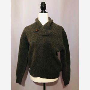 L.L. Bean vintage wool sweater
